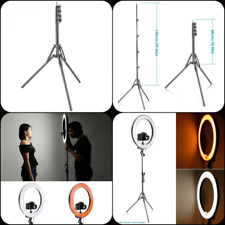 Aluminum Alloy Light Stand 59 150cm For Lights Ring Flash Photography Background