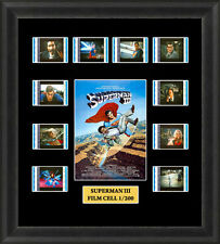 Superman 3 Framed Film Cell Memorabilia Christopher Reeve Richard Pryor