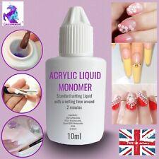 ACRYLIC LIQUID Purple For Powder 10ml Nail Art Extension Refill Nails Monomer UK