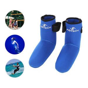 AbTech Snorkeling Swim Diving Socks 3mm Waterproof Neoprene for Beach M,L,XL,XXL
