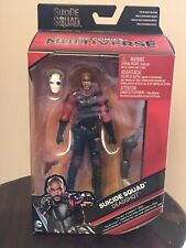 DC Multiverse Suicide Squad Deadshot 6? figure MIP w Killer Croc BAF piece
