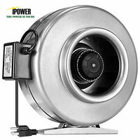 iPower Inline Duct Ventilation Fan HVAC Exhaust Blower for Grow Tent VERSION 2
