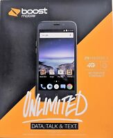 NEW ZTE Prestige 2 Unlimited 4G 16GB Boost Mobile Android Smartphone No Contract