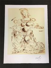 Disintegrating Mother and Child Fine Art Lithograph Salvador Dali S2