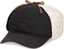 WOOLRICH TROOPER HAT DARK BROWN Oil Cloth Cotton Hat L LARGE 59