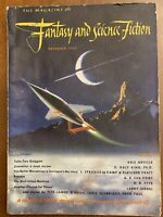 DECEMBER 1950 Magazine Of Fantasy & Science Fiction DIANETICS review Vol 1 #5