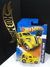 2011 HOT WHEELS RLC  FACTORY SEALED MOONEYES ANGLIA PANEL TRUCK YELLOW