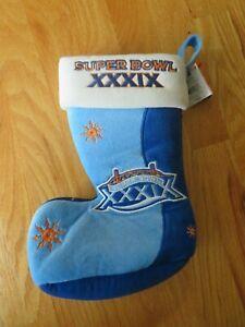 Super Bowl XXXIX NEW ENGLAND PATRIOTS vs PHILADELPHIA EAGLES Christmas Stocking