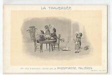 ILLUSTRATION , LES JEUX D' ENFANTS , LA TRAVERSEE