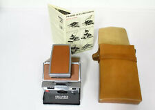 Poloroid SX-70 Leather Details / Carry Case, User Guide- 𝗜𝗠𝗠𝗔𝗖𝗨𝗟𝗔𝗧𝗘