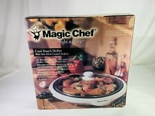 """New Magic Chef Tsk-217Gw Cook Touch 14"""" Skillet w Non Stick Coated Surface"""