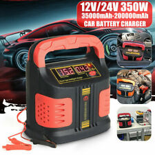12V/24V 350W Car Battery Charger Pulse Repair Full Automatic Intelligent