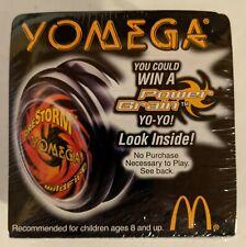 McDonalds Yomega #4 Black Firestorm Yo-Yo New