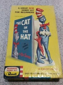 Revell Vintage 1959 The Cat in the Hat model kit (Box ONLY)
