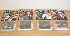 4x James Bond - Modellauto Collection in 1:43 mit Hefte