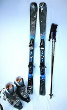 ELAN Amphibio 78 Ti 152cm Ski Package w/ Fusion Bindings, Boots & Poles Included
