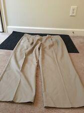 Croft & Barrow Mens Casual Dress Khaki Pants Sz 42X30 Pleated Front