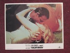 Goldfinger     - Original Lobby Card - Connery - James Bond