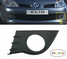 Renault Clio III mk3 2005-2009 pare-chocs Avant Brouillard Calandre Grill Gauche N/S Passenger
