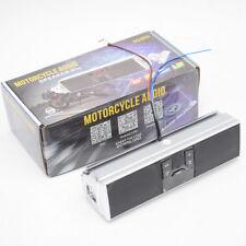 Handlebar Bluetooth Motorcycle Stereo Speaker Audio System MP3 ATV UTV DC 12V