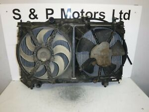 Toyota Avensis 97-00 1.8 Petrol Manual Radiator Pack With Fans