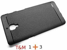 T&M Matte Finish Soft Back Cover Case for Oneplus 3T (Oneplus 3) Three -Black