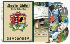 Studio Ghibli 17 Movies Collection English Dubbed DVD- SLIP COVER Scrached (NEW)