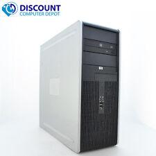 Fast HP DC Desktop PC Computer Tower Windows 10 Pro Dual Core 8GB 500GB