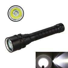 2000 Lumen CREE XM-L U2 LED Diving Scuba Flashlight Torch Light Waterproof  Lamp
