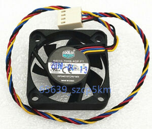 Cooler Master DF0401012RFMN 4010 12V 0.10A 4PIN PWM Cooling Fan A4010-70RB-4QP