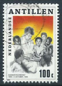 Netherland Antilles 1984 Birth Centenary of Eleanor Roosevelt Good Used stamp