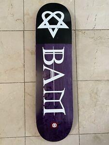 BAM Margera Heartagram Skateboard Deck