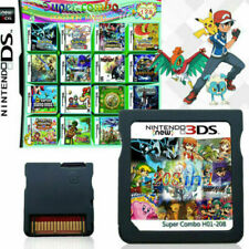208 in 1 Game Multicart Cartridge for Nintendo NDS 2DS 3DS Multi cart fast ship