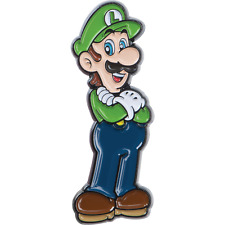 Nintendo Super Mario Collector Pins Series 1 - Luigi  - Limited Collectors Badge