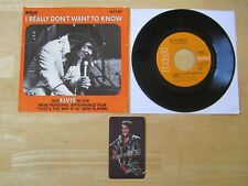 Elvis 45rpm record & Sleeve, I Really Don't Want To Know,# 47-9960,1970 Calendar