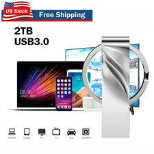 2Tb Usb 3.0 Flash Drive Memory Stick Pen U Disk Metal Key Thumb for Pc Laptop Us