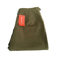 ELENA MIRO' pantalone donna invernale militare elastico vita  39-48 Made in Ita