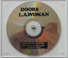 THE DOORS L.A. Woman Disque de Platine / Platinum Disc / 300.000 Albums Vendus