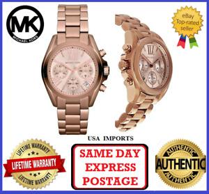 Michael Kors MK5799 Bradshaw Rose Gold Chronograph Womens Wrist Watch