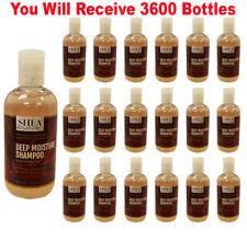 3600 Organic Shea Butter Deep Moisture Hair Shampoo Bulk Wholesale Lot Closeout