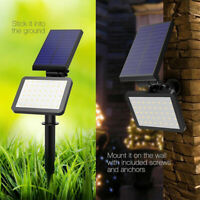 48LED Solar Power Spotlight Garden Lawn Lamp Landscape Light Outdoor Waterproof