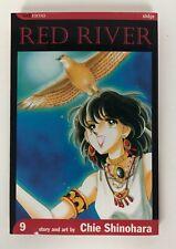 RED RIVER Volume 9  Chie Shinohara Viz Media manga Mature Content Shojo OOP Rare