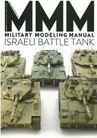 Military Modeling Manual Israeli Tank (Hobby Japan MOOK 886) F/S w/Tracking# NEW