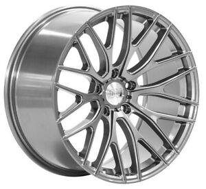 "19"" 1AV ZX2 Alloy Wheels Grey WIDER REAR 5x120 fits BMW 3 Series"