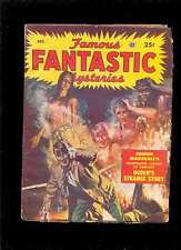 FAMOUS FANTASTIC MYSTERIES (Pulp) 11.1949 Finlay Lawrence Leydenfrost TBE