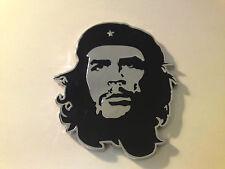 Nuevo Metal Cromado Ernesto Che Guevara Placa De Coche Placa