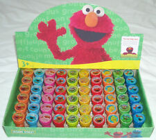20 pieces Sesame Street Elmo Self Inking Stamper Pencil Topper Wholesale Lot :)