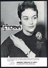 1956 Vintage Eterna-Matic Golden Heart & Ring Watch Cynthia Blackburn Model AD