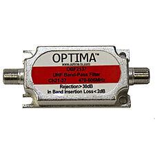 Optima UHF Band- Pass Filtro/Frequenza Interferenze Bloccanti Gruppo A Ch21-37