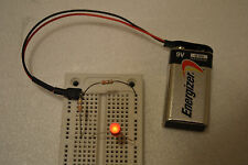 NEW PowerFang CORDLESS BREADBOARD POWER SUPPLY 9V - 9Volt BATTERY POWERED